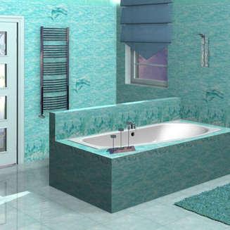 Плитка для ванной уралкерамика лагуна